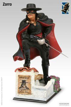 Polystone Statue - Electric Tiki - Zorro #2714