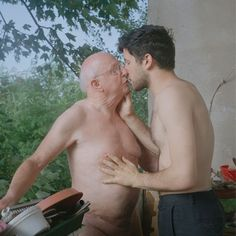 Rather naked old gay grandpa agree, very