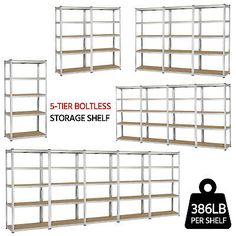 No matter you need a temporary storage solution or you want to oragnize your stuff neat and tidy, this shelving unit is your perfect choice. It can hold many of your belongings in a compact and space saving way. Heavy Duty Storage Shelves, Metal Shelving Units, Vacuum Cleaner For Home, Best Vacuum, Garage Shelf, Confidence, Shop, Furniture, Home Decor
