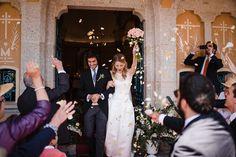 Los novios. Boda en el campo. The bride and the groom. Country wedding. By Detallerie Wedding planners.