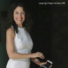 Lisa Edelstein wearing my 'girlfriend' rings on the set of Girlfriends Guide to Divorce last week! Thanks to the fabulous Nigel Horsley for the amazing photo! You can check them out in my shop thelovelysmith.etsy.com