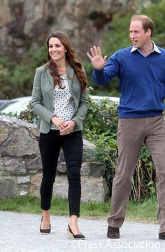 The Duke and Duchess of Cambridge make their first official appearance since the birth of Prince George. His Royal Highness officially started the Ring O' Fire Anglesey Coastal Ultra Marathon, a three-day, 135-mile foot race around the rugged nearby coast. 8-30-13