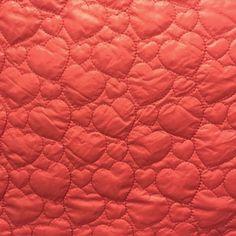 Lieblingsstücke: Herzen rot, Steppstoff, 15,90 EUR... Back Stitch, Red