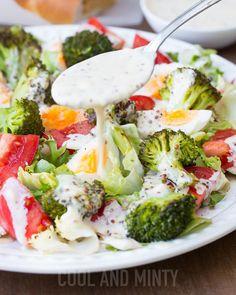 COOL & MINTY: SAŁATKA Z BROKUŁAMI I JAJKIEM Salad Recipes, Cake Recipes, Healthy Recipes, Salad Dishes, I Want To Eat, Broccoli, Potato Salad, Food Porn, Food And Drink