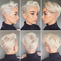 Check out these 12 short haircut ideas for every kind of women; from Stay Glam SHORT SIDES, LONG Short Pixie Haircuts, Pixie Hairstyles, Short Hairstyles For Women, Pixie Updo, Undercut Short Hair, Short Hair Cuts For Women Pixie, Short Sides Haircut, Messy Pixie, Tomboy Hairstyles