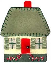 needle case cottage, by pattern bee