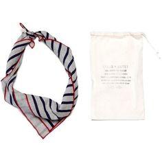 Apolis + Matteo Striped Linen Bandana