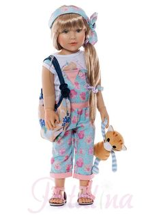Kidz 'n' Cats Mirelle. Mirelle is a new doll from the 2017 collection of Kidz 'n' Cats which are due to be delivered in July 2017. We are not sure yet if the cat is included, but I think it might be.