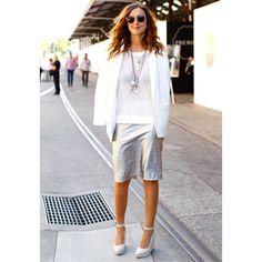 Designer Victoria Bolton in metallics, plus find more summer style inspiration at Redonline.co.uk