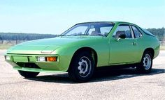 Very early European Version Porsche 924 with Steel Wheels.