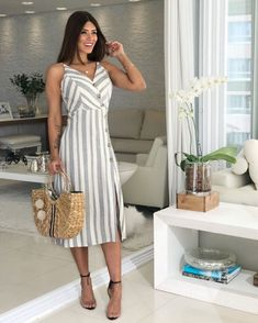Swans Style is the top online fashion store for women. Shop sexy club dresses, jeans, shoes, bodysuits, skirts and more. Cute Dresses, Casual Dresses, Fashion Dresses, Chic Outfits, Summer Outfits, Summer Dresses, Modest Wear, Dress Me Up, Swing Dress