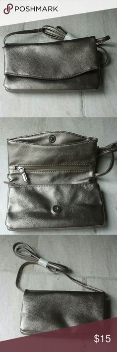 Brand new pewter small handbag Brand new pewter small handbag Bags