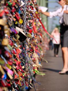 Liebesschlösser Köln / Love Locks #Cologne, #Germany