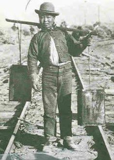 chinese workers on transcontinental railroad | The Chinese Railroad Workers