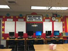 Hollywood themed classroom