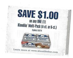Klondike Multi-pack ~ 06/04/2014 ~ $1.00 on ONE (1)