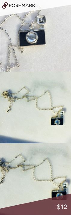 Adorable Paparazzi Photography Camera Necklace This is my fav. EUC. Cleaned ultrasonically just for you ✨ kateymart Jewelry Necklaces