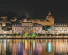Città svizzere: dove il design spazia dai quartieri ai musei, dagli alberghi ai ristoranti.