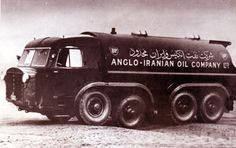 Vintage Trucks historynet: Anglo-Persian Oil Company vehicle in Iran × - Diesel Punk, Classic Chevy Trucks, Classic Cars, Historical Images, Vintage Trucks, Vintage Trailers, New Trucks, Commercial Vehicle, Fire Trucks