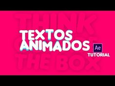 Animando Textos y Sombras After Effects Tutorial Adobe After Effects Tutorials, Learn Animation, After Effect Tutorial, Photography And Videography, Motion Design, Video Editing, Motion Graphics, Software, Typography