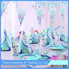 2017 Popular Style Decoration Party Supplies Set Buy Party