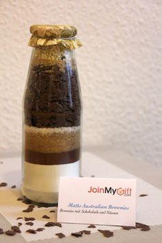 Brownie Backmischung im Glas