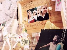 Shrine for The Virgin Suicides from Camilla.