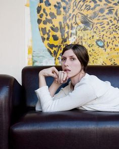 Aldous Harding - photo by Alessandra Leimer Female Singers, Latest Music, Nova Scotia, Rollers, Ladies Fashion, Pin Collection, My World, Writers, Bean Bag Chair