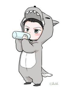 Wolf Sehun Baby