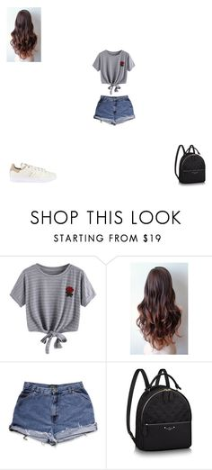 """Untitled #175"" by monroden on Polyvore featuring WithChic e adidas Originals"