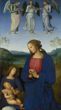 Pietro Perugino: The Virgin and Child with an Angel