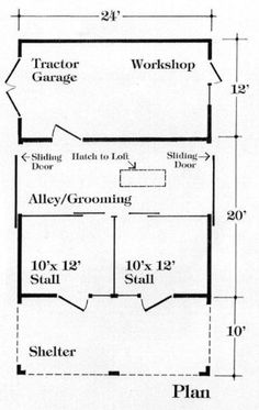 Horse Barn Design Ideas horse barn design ideas Nine Small Horse Barn Plans Complete Pole Barn Construction Blueprints Woodworking Project Plans