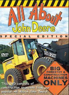All About John Deere Special Edition Kids DVD – GreenToys4u.com #johndeere #DVD #movies