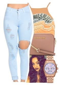 """""""yea, I said it boy get up inside it """" by glowithbria ❤ liked on Polyvore featuring Topshop, adidas Originals, Michael Kors and MICHAEL Michael Kors"""