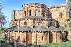 Tierras de Almazán y Berlanga - ArteViajero Romanesque Art, Romanesque Architecture, Religious Architecture, Art And Architecture, Abandoned Churches, Old Churches, Architecture Romane, Architecture Religieuse, Saint Romain