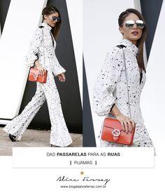 Das passarelas para as ruas – Pijamas camila coelho