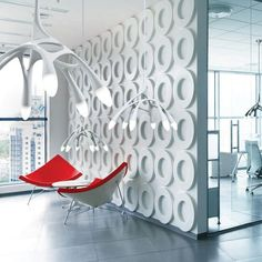Lampe suspension / design original / en acrylique NLC next Interior Design Companies, Best Interior Design, Interior Design Inspiration, Design Furniture, Unique Furniture, Commercial Office Furniture, Acrylic Chair, Interior Fit Out, Look Retro