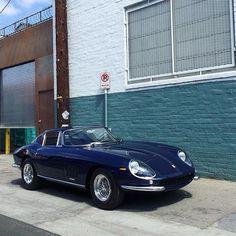 Blue navy Ferrari 275 GTB by @countachfan #navy #blue #italy #art #usa #ferrari #mercedesbenz #lamborghini #bugatti #porsche #carporn #vintage #firstpost #first #elegance #lux #luxury #luxurycar #luxurylife #f4f #fashion #cars #londoncars #blacklist #newyork #autoporn #automotive #instacar #follow #carvintage by car_vintage