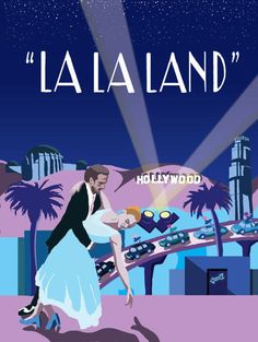 La La Land Original Art Movie Poster Illustration Vector Giclee Print Movie Poster Art, Poster Wall, Poster Prints, Photo Wall Collage, Picture Wall, Damien Chazelle, Broadway, Indie Room, Alternative Movie Posters