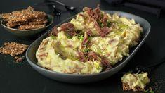 Kremet kyllingsalat | Oppskrift - MatPrat Finger Foods, Guacamole, Potato Salad, Mashed Potatoes, Cauliflower, Cabbage, Goodies, Appetizers, Menu