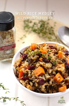 wild rice and roasted vegetables medley enjoy roasted end of summer ...