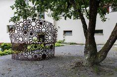 lavicka na zahradu Bench, Garden, Plants, Projects, Photography, Design, Art, Log Projects, Art Background