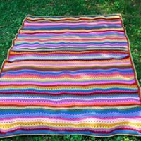 Crochet blanket, inspired by #Attic24