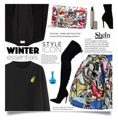 """Graffiti Print"" by violet-peach ❤ liked on Polyvore featuring American Vintage and Laura Mercier"