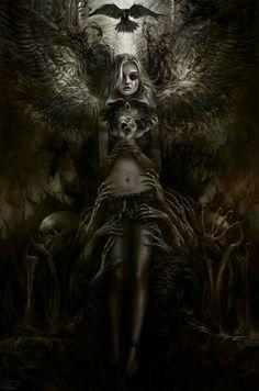 Dark fallen angel