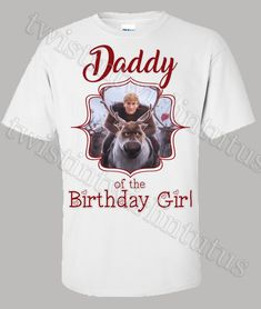 Frozen 2 Dad Birthday Shirt | Frozen 2 Birthday Party Ideas | Twistin Twirlin Tutus  #frozen2 #frozen2birthday #twistintwirlintutus  www.TwistinTwirlinTutus.com