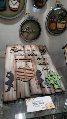 Arte Pallet, Pallet Wall Art, Wooden Cutouts, Laser, Wood Art, Quilling, Painted Furniture, Decoupage, Projects To Try