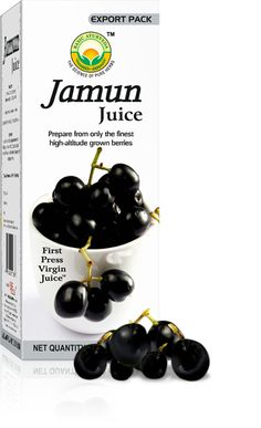Jamun is a fruit found all over India. Jamun Juice is rich in has rich in Carbohydrates, Minerals & Vitamins. Minerals such as Manganese, Zinc, Iron, Calcium, Sodium & Potassium.