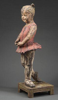 Margaret Keelan (clay) 'Pose'