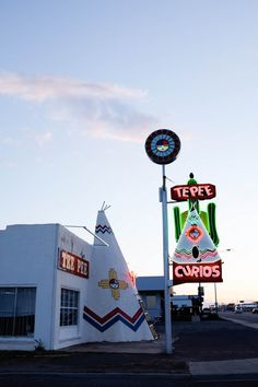 Make a stop in Tucumcari, NM for the night along Route 66. // Salty Canary